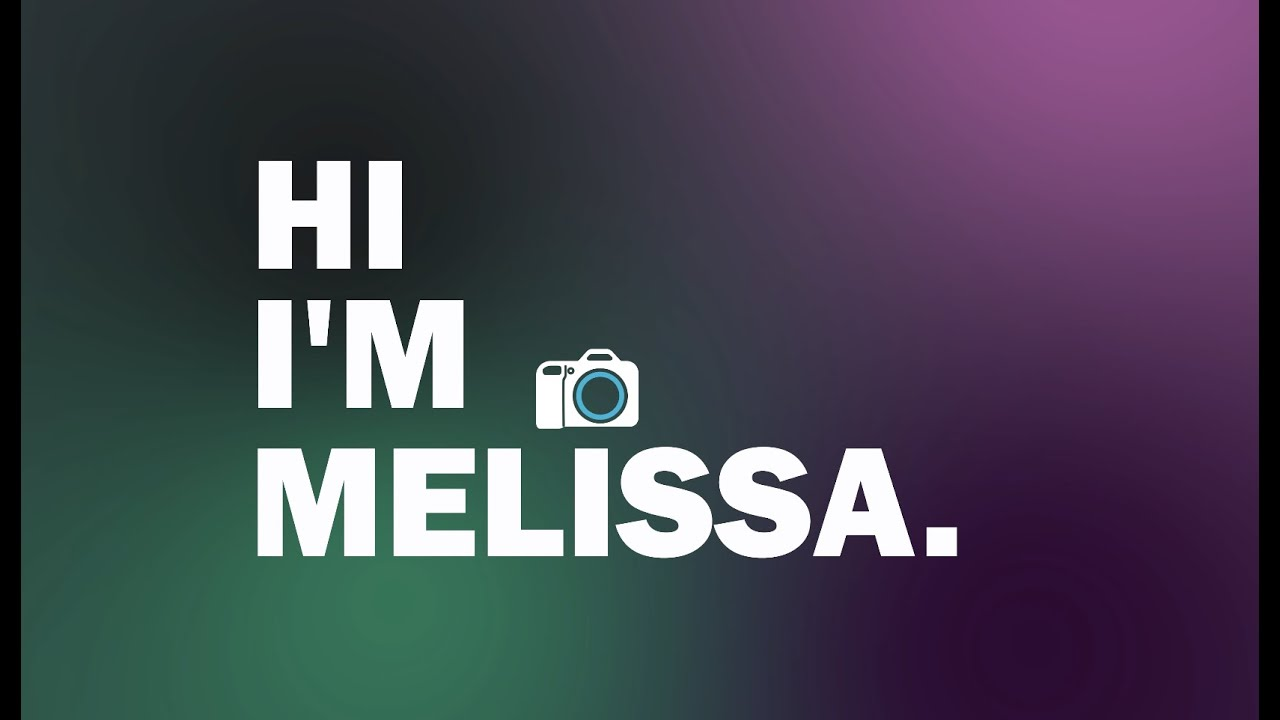 MELISSA LAM | FILMMAKING SHOW REEL 2019-20