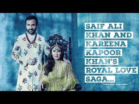 Bollywood's Romantic Chapters: Saif Ali Khan and Kareena Kapoor Khan's royal love saga   Bollywood