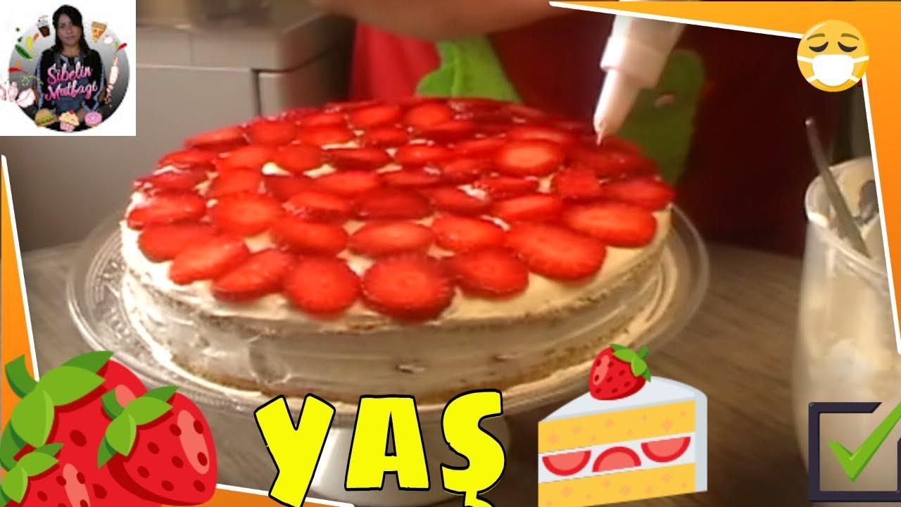 Çilekli Kremalı Pasta Tarifi Videosu