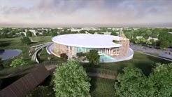 Centre aquatique de Denain : un cocon au coeur du parc Emile Zola