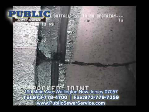 Public Sewer Service -TV Inspection / Pipe Location Sewer & Drain Services In New Jersey
