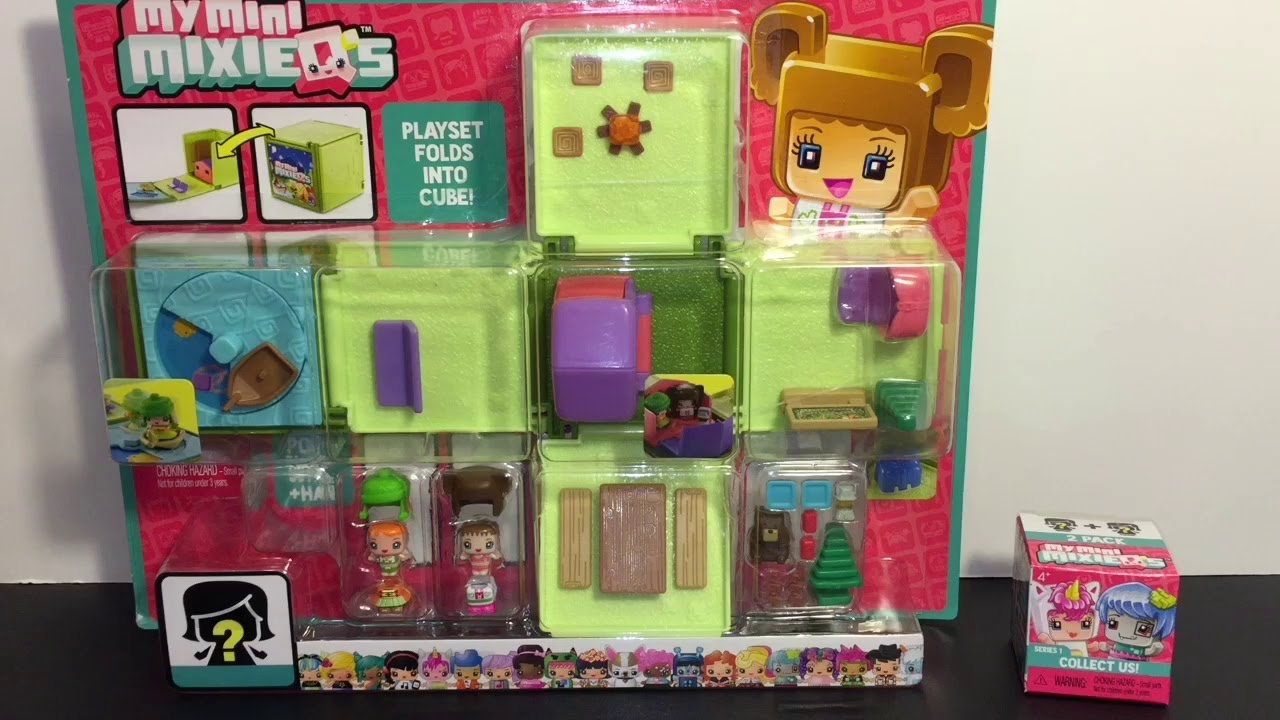 My mini mixie qs camping playset blind box opening