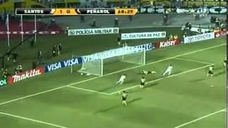 Santos 2  Peñarol 1  Final Vuelta Copa Libertadores 2011