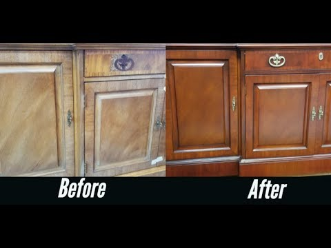 How To Restore Sun Damaged and Faded Wood Furniture Without Refinishing