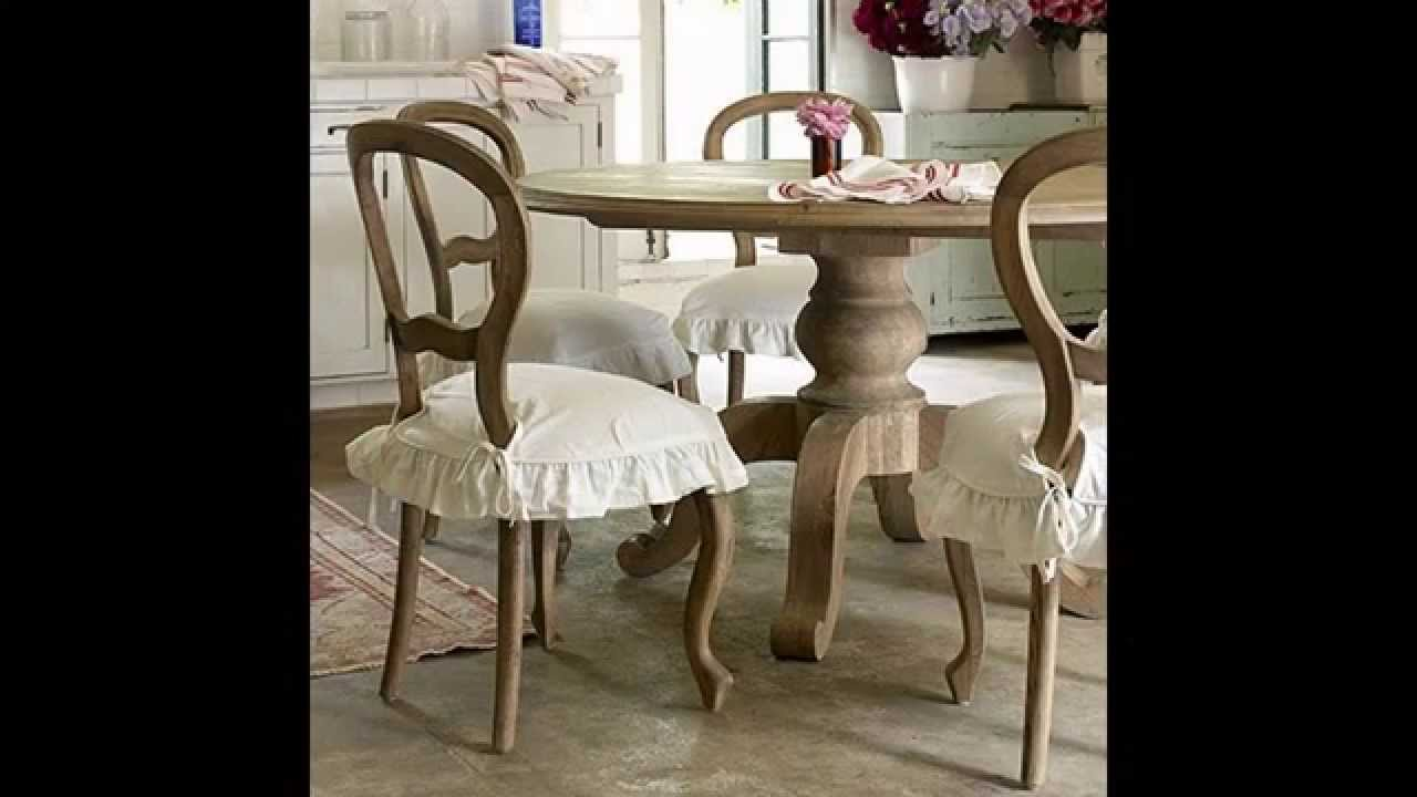 Shabby chic kitchen table ideas - YouTube