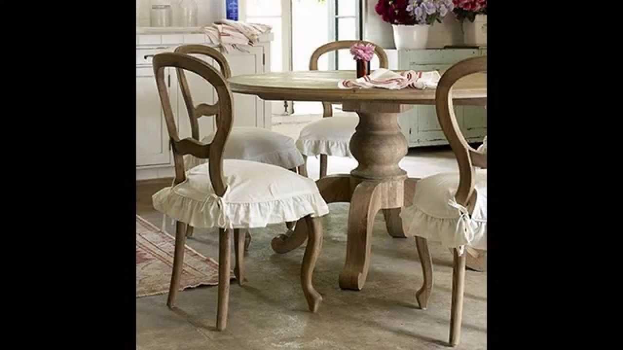 Shabby chic kitchen table ideas - YouTube
