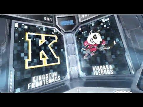HIGHLIGHTS | Niagara IceDogs (6) Vs Kingston Frontenacs (3) - January 11th, 2019