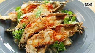 BBQ Crayfish with Cilicuka - 烤虾婆