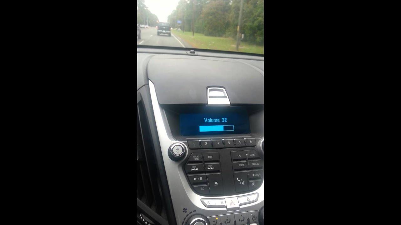 2011 Chevy Equinox Radio Problems Youtube