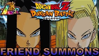 THIS DAMN GAME KEEPS TROLLING ME!! Dokkan Battle Android Friend Summons