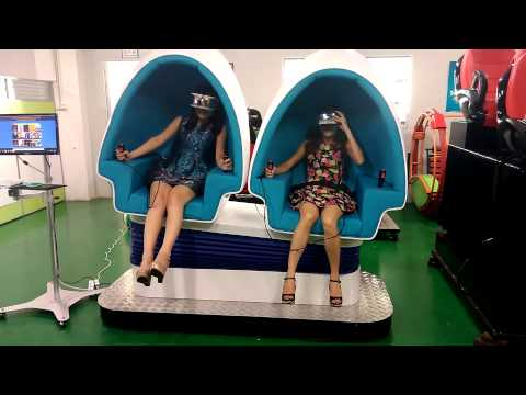 Shenzhen Jimgmin Two seats 9D Virtual Reality egg Cinema
