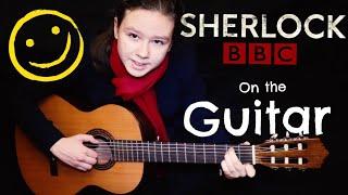 """Sherlock"" Them (BBC) on the Guitar (Cover)// саундтрек к сериалу «Шерлок» на Гитаре"
