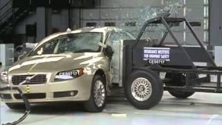 Voiture de Luxe Crash Test 2007 Volvo S80 side test