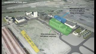 Vidéo#1 Construction usine METEX NOOVISTA 04 11 2019