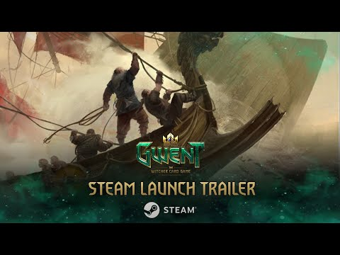 GWENT: The Witcher Card Game   Steam Launch Trailer
