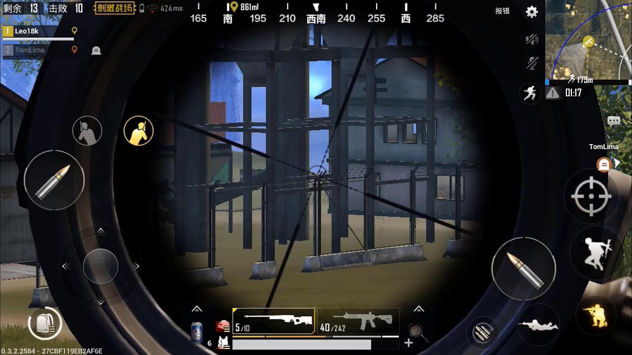 15 KILLS COM M416 + AWM PUBG MOBILE GAMEPLAY FULL HD