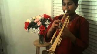 National Anthem of India on Trumpet