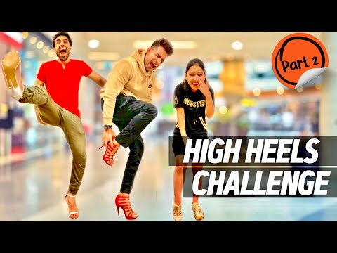 HIGH HEELS Challenge for 24 Hours Part 2 | Rimorav Vlogs