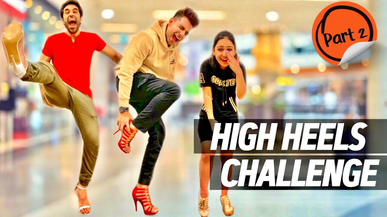 HIGH HEELS Challenge for 24 Hours Part 2 | Rimorav Vlogs ...