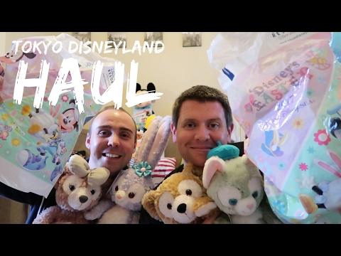Tokyo Disneyland Haul - Tokyo Disneysea and Disney Store - May 2017
