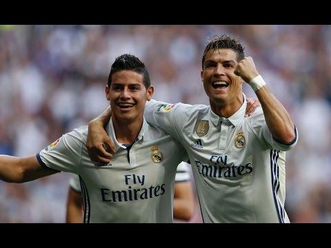 Real Madrid 4-1 Sevilla | Goals | COPE | Liga 2017