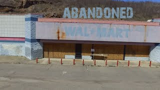 Abandoned Wal Mart - Drone Footage