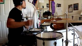 Josh Sibayan- Joyful Noise- Drum Cover- Song by Flame (Marcus Tyrone Gray), LeCrae, John Reilly