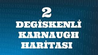 SAYISAL ELEKTRONİK DERSLERİ: İki Değişkenli Karnaugh Haritası