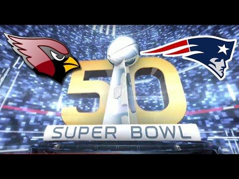 Super Bowl 50 Arizona Cardinals vs New England Patriots Madden 16 2016