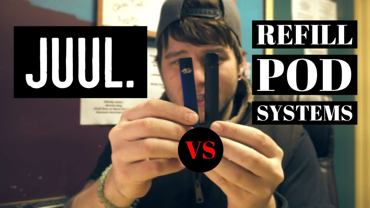 Is the juul vape pod device the best? JUUL vs Other Pod vape Devices