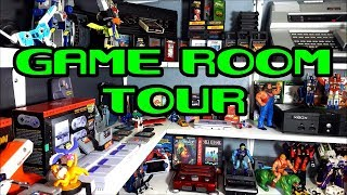 8Bit Flashback Game Room tour + upcoming projects