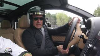 2017 Bentley Bentayga track test drive at Limerock Park