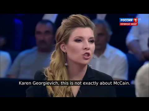 MUST SEE: Top Russian Politicians CRUSH John McCain's Legacy on #1 Russian TV Show