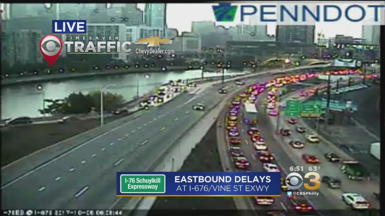 I-76 EB Closed At University Avenue After Fatal Motorcycle Accident