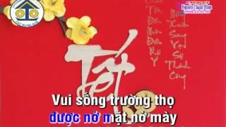 [ Karaoke ] CHÚC TẾT NGƯỜI THÂN - ĐIỆU XUÂN TÌNH LỚP 1 & LỚP CHÓT