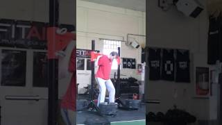 Mike - Yoke Lift 345 Kg @ 80 Kg 13 May 2017