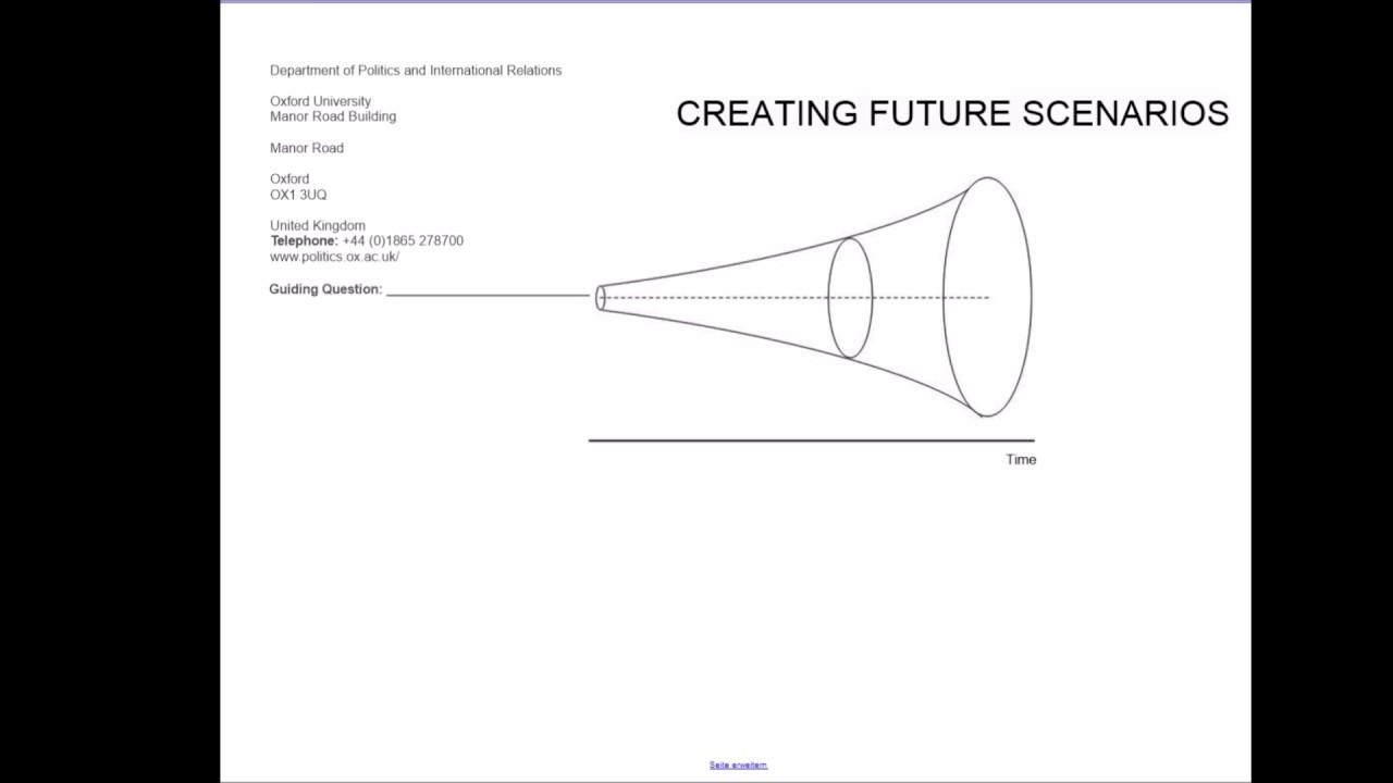 Future scenario writing frame introduction video - YouTube