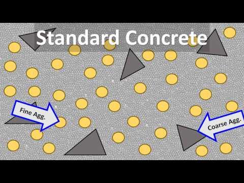 BioConcrete Healing Process vs Standard Concrete