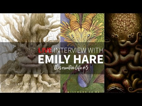 LIVE interview with fantasy artist Emily Hare - This Creative Life #5