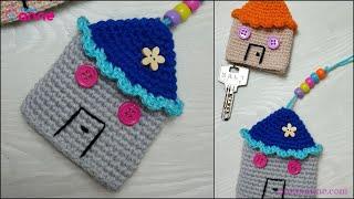Amigurumi Ev Anahtarlık Yapılışı - Amigurumi Ev Modeli @Canım Anne