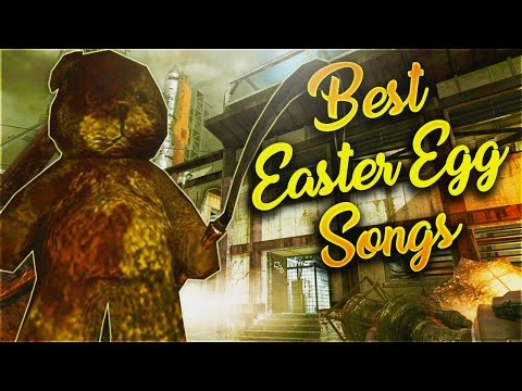 """""""Top 10"""" BEST SONGS IN ZOMBIES! """"Top 10 Easter Egg Songs"""" """"CoD WaW, Bo, Bo2 and Bo3 Zombies"""""""
