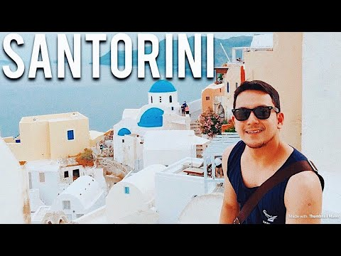 GREECE TRAVEL VLOG: ATHENS + SANTORINI | THINGS TO DO