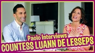 Countess LuAnn de Lesseps Talks About The Real Housewives of New York