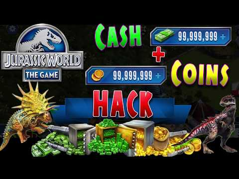 Jurassic World The Game Hack 2017 - Jurassic World Hack Cash [Android and iOS]