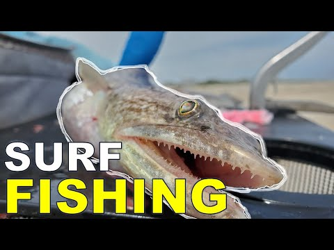 Surf Fishing North Carolina (Wrightsville Beach, NC)