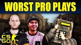 Top 10 Worst CS:GO Pro Plays of 2016