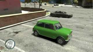"""Austin Mini Morris """"Mr Bean"""" - GTA IV"""