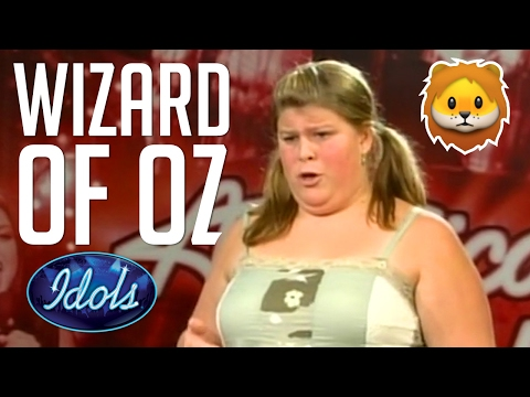Best Impression Of Cowerdly Lion From Wizard Of Oz | Idol Audition | Idols Global