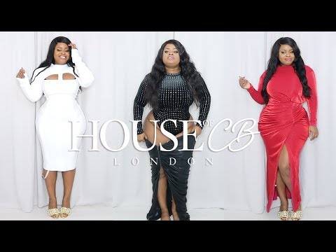 Plus Size | House of CB Party Wear Try On Haul | Edee Beau