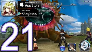 DISSIDIA Final Fantasy OO Android iOS Walkthrough - Part 21 - Ch3,  World of Illusions